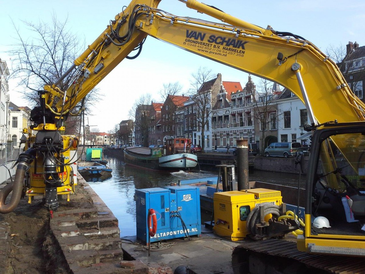 Renovatie Lange Haven Schiedam