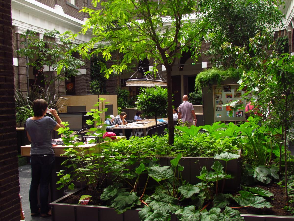 Het park in de Bibliotheek – voorjaar 2015